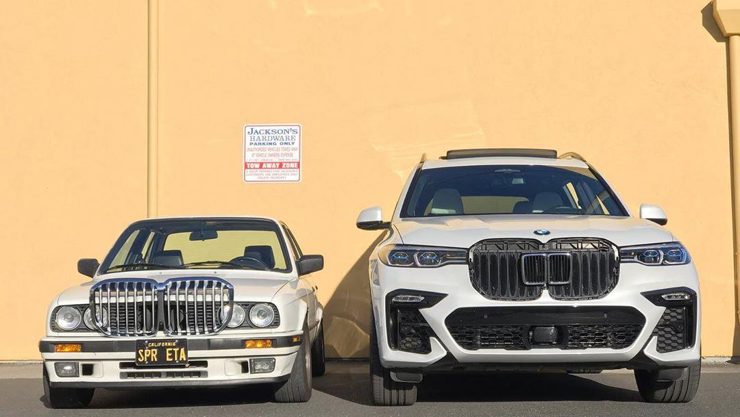2017 - [BMW] X7 [G07] - Page 14 BMW-grille-swap-x7-e30-3-series-1