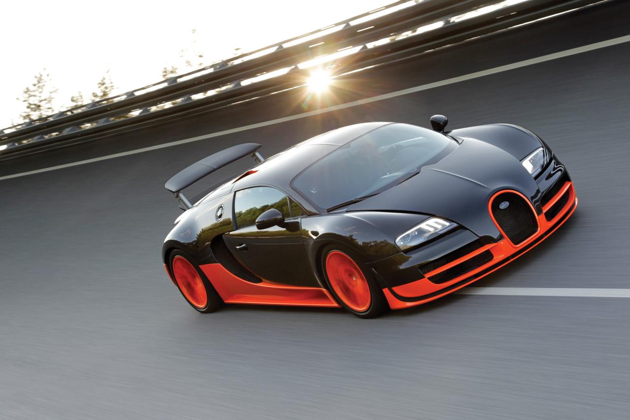 Επίσημο Bugatti Veyron 164 Super Sports με 1200 άλογα