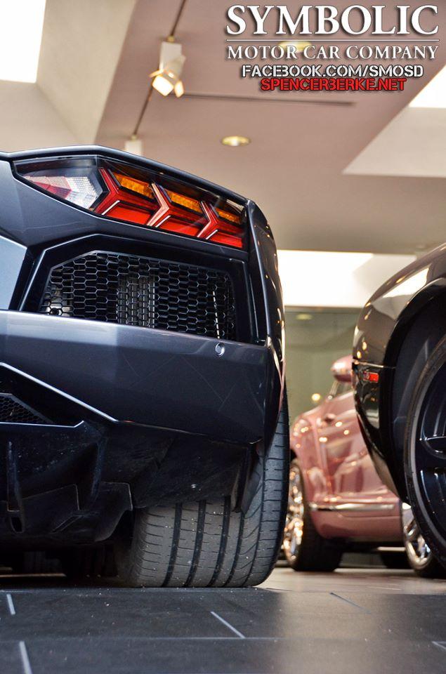Lamborghini Aventador Grigio Estoque W