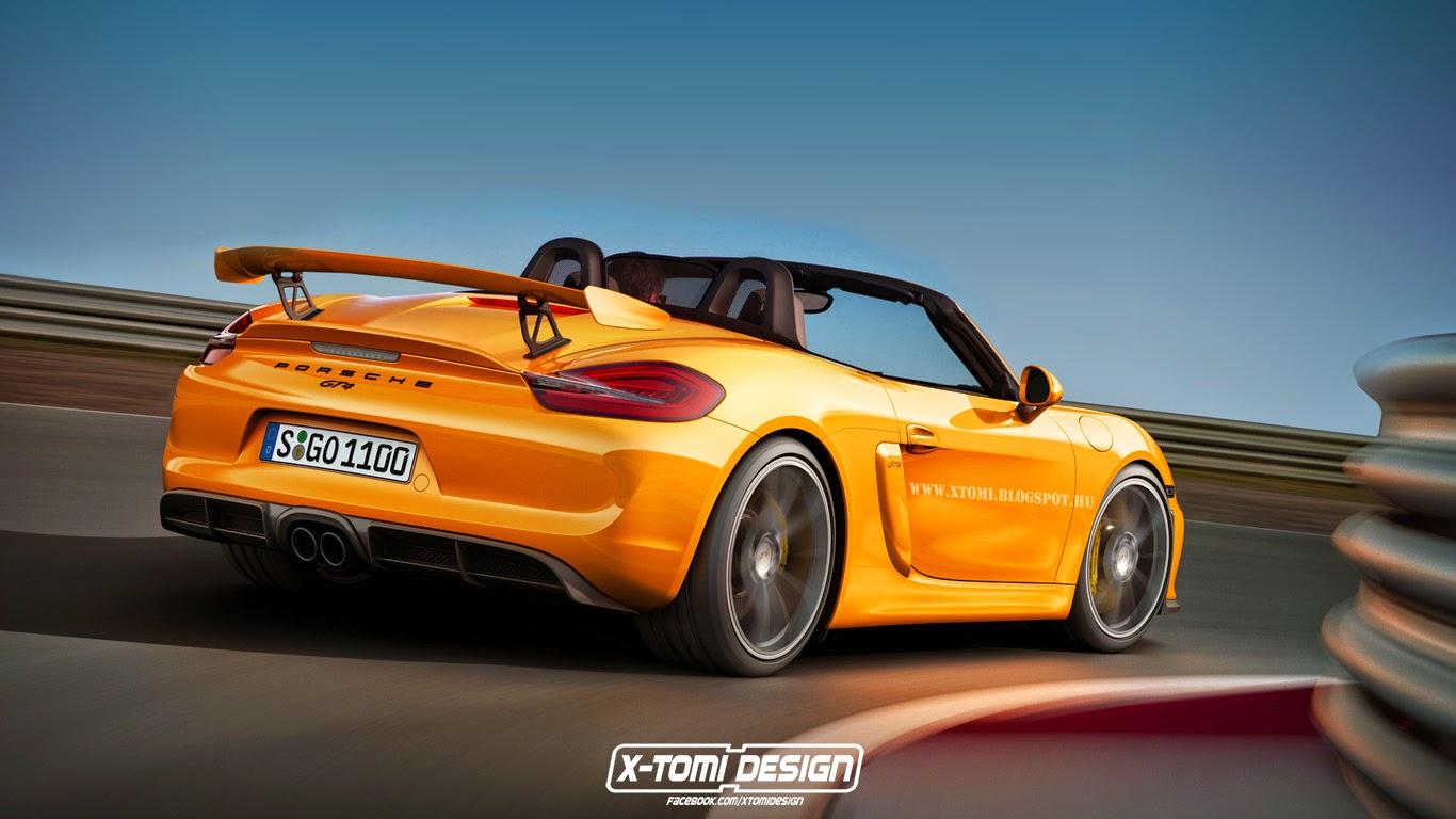 Cayman GT4 Porsche Boxster Spyder